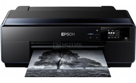Принтер струйный цветной Epson SureColor SC-P600, A3,6/6 стр/мин, USB,LAN, WiFi, Черный C11CE21301