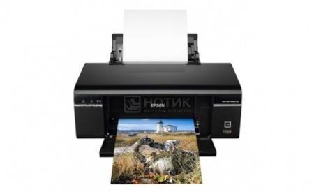 Принтер струйный цветной Epson Stylus Photo P50, A4, 37/38 стр/мин, USB,Черный C11CA45341