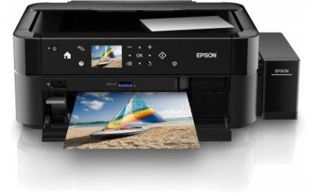 МФУ струйное цветное Epson L850, A4, 37/38 стр/мин, USB, Черный C11CE31402
