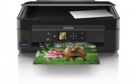 МФУ струйное цветное Epson Expression Home XP-323, A4, 33/15 стр/мин, USB, WiFi, Черный C11CD90405