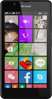 Смартфон Nokia Lumia 540 Black (Windows Phone 8.1/MSM8212 1200MHz/5.0