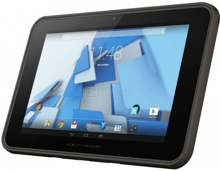 "Планшет HP Pro Slate Tablet 10 G1 (Android 4.4/Z3735F 1330MHz/10.1"" (1280x800)/2048Mb/32Gb/ 3G (EDGE, HSDPA, HSPA+)) [L2J92AA] от Нотик"