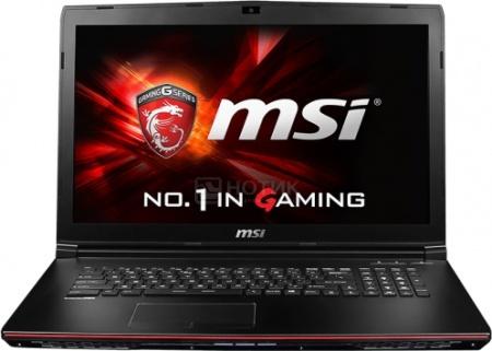 Ноутбук MSI GP72 2QE-202RU Leopard Pro (17.3 LED/ Core i5 4210H 2900MHz/ 4096Mb/ HDD 1000Gb/ NVIDIA GeForce GTX 950M 2048Mb) MS Windows 10 Home (64-bit) [9S7-179323-202] от Нотик