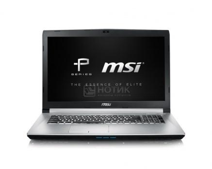 Ноутбук MSI PE70 6QD-064XRU (17.3 IPS (LED)/ Core i7 6700HQ 2600MHz/ 8192Mb/ HDD 1000Gb/ NVIDIA GeForce GTX 950M 2048Mb) Free DOS [9S7-179542-064]MSI<br>17.3 Intel Core i7 6700HQ 2600 МГц 8192 Мб DDR4-2133МГц HDD 1000 Гб Free DOS, Серебристый<br>
