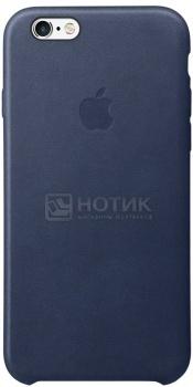 Чехол для iPhone 6s Plus Apple Leather Case Midnight Blue, Темно-синий MKXD2ZM/A аксессуар чехол krutoff silicone case для apple iphone 6 6s midnight blue 10727