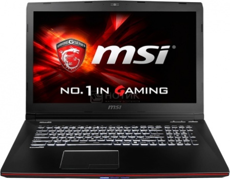 Ноутбук MSI GE72 6QC-065RU Apache (17.3 LED/ Core i5 6300HQ 2300MHz/ 8192Mb/ HDD 1000Gb/ NVIDIA GeForce® GTX 960M 2048Mb) MS Windows 10 Home (64-bit) [9S7-179554-065]