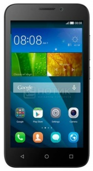 Смартфон Huawei Ascend Y5C Black (Android 4.4/SC7731G 1200MHz/4.5
