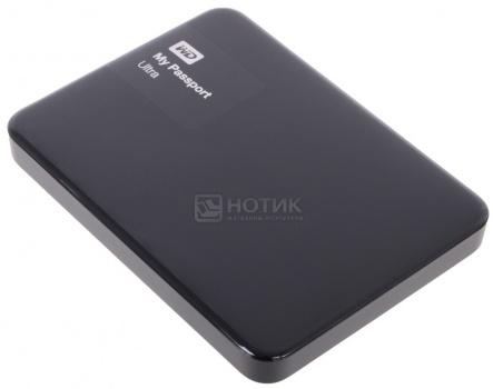 """Жесткий диск Western Digital 1Tb WDBDDE0010BBK-EEUE My Passport Ultra 2.5"""" USB 3.0, Черный"""