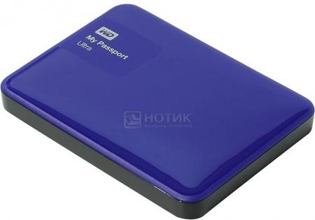 "Жесткий диск Western Digital 2Tb WDBNFV0020BBL-EEUE My Passport Ultra 2.5"" USB 3.0, Синий"