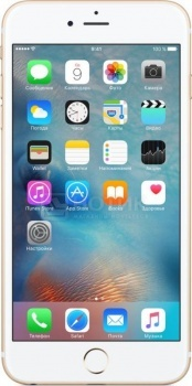 Смартфон Apple iPhone 6s Plus 128Gb Gold (iOS 9/A9 1840MHz/5.5 1920x1080/2048Mb/128Gb/4G LTE  ) [MKUF2RU/A]