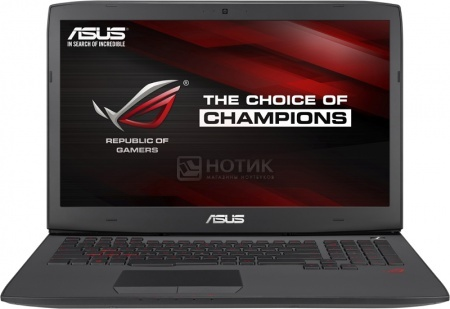 Ноутбук Asus G751JY (17.3 IPS (LED)/ Core i7 4750HQ 2000MHz/ 24576Mb/ HDD+SSD 2000Gb/ NVIDIA GeForce GTX 980M 4096Mb) MS Windows 10 Home (64-bit) [90NB06F1-M07070] от Нотик