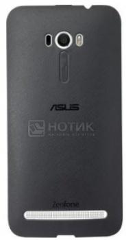 Чехол Asus Bumper Case PF-01 для ZenFone Selfie ZD551KL, Полиуретан, Черный 90XB00RA-BSL360