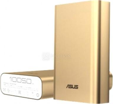 Внешний аккумулятор Asus ZenPower ABTU005, 10050 мАч, Золотистый 90AC00P0-BBT028