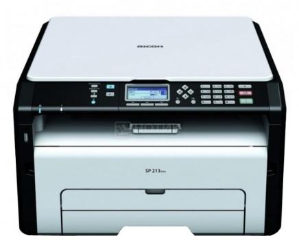 МФУ лазерное монохромное Ricoh SP 212SUw, A4, 22 стр/мин, 128Мб, WiFi, USB, Белый/Черный 407694