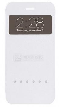 Чехол-накладка для iPhone 6/6S Plus Ozaki O!coat Hel-ooo, Полиуретан, Белый OC588WH от Нотик