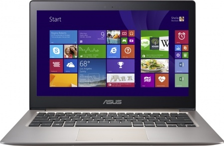 Ультрабук ASUS Zenbook UX303LB (13.3 IPS (LED)/ Core i7 5500U 2400MHz/ 6144Mb/ HDD+SSD 1000Gb/ NVIDIA GeForce 940M 2048Mb) MS Windows 10 Home (64-bit) [90NB08R1-M03280]