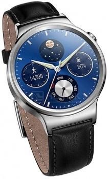 Смарт-часы Huawei Watch Classic Silver, Кожаный ремешок, Серебристый MERCURY-G00