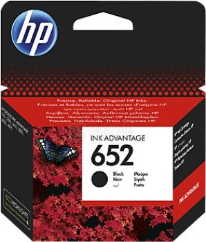 Картридж HP 652 для Deskjet Ink Advantage 1115 2135 3635 3835 4535 4675 360стр, Черный F6V25AE