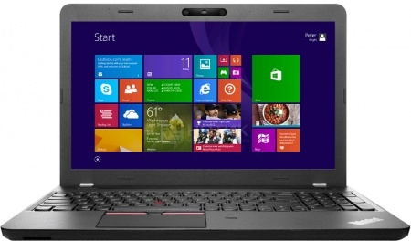 ������� Lenovo ThinkPad Edge E550 (15.6 LED/ Core i5 5200U 2000MHz/ 4096Mb/ HDD 500Gb/ Intel HD Graphics 5500 64Mb) MS Windows 7 Professional (64-bit) [20DFS07J00]Lenovo<br>15.6 Intel Core i5 5200U 2000 ��� 4096 �� DDR3-1600��� HDD 500 �� MS Windows 7 Professional (64-bit), ������<br>