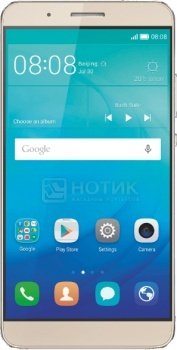 Смартфон Huawei ShotX Gold (Android 5.1/MSM8939 1500MHz/5.2