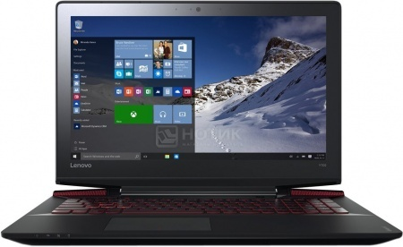 Ноутбук Lenovo IdeaPad Y700-17ISK (17.3 IPS (LED)/ Core i7 6700HQ 2600MHz/ 12288Mb/ HDD+SSD 1000Gb/ NVIDIA GeForce® GTX 960M 4096Mb) MS Windows 10 Home (64-bit) [80Q00017RK]