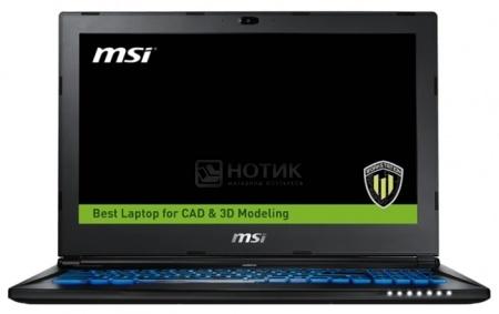 Фотография товара ноутбук MSI WS60 6QJ-020RU (15.6 IPS (LED)/ Core i7 6700HQ 2600MHz/ 16384Mb/ HDD+SSD 1000Gb/ NVIDIA Quadro M2000M 4096Mb) MS Windows 10 Professional (64-bit) [9S7-16H812-020] (42806)