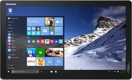 Моноблок Lenovo Yoga Home 500 (21.5 IPS (LED)/ Core i5 5200U 2200MHz/ 8192Mb/ HDD+SSD 500Gb/ NVIDIA GeForce 920A 1024Mb) MS Windows 10 Home (64-bit) [F0BN001GRK]