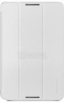 Чехол-книжка для Lenovo A8-50, Folio Case and Film 888016507, Полиуретан, Белый