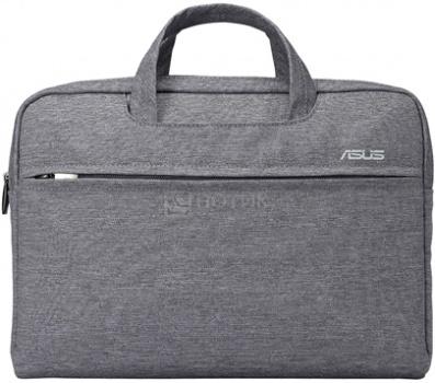 """Сумка для ноутбука ASUS 16"""" EOS Shoulder BAG, Полиэстер, Серый 90XB01D0-BBA040"""