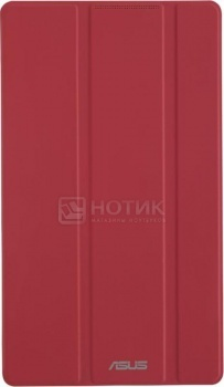 Чехол-книжка ASUS ZenPad C 7.0 TriCover, Полиуретан/Поликарбонат, Красный 90XB015P-BSL390