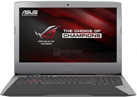 Ноутбук Asus G752VY (17.3 IPS (LED)/ Core i7 6700HQ 2600MHz/ 65536Mb/ HDD+SSD 2000Gb/ NVIDIA GeForce GTX 980M 8192Mb) MS Windows 10 Home (64-bit) [90NB09V1-M03500]Asus<br>17.3 Intel Core i7 6700HQ 2600 МГц 65536 Мб DDR4-2133МГц HDD+SSD 2000 Гб MS Windows 10 Home (64-bit), Серебристый<br>