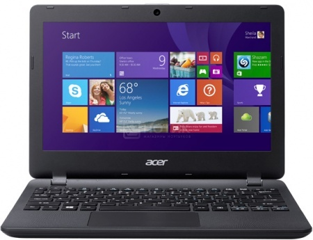 Ноутбук Acer Aspire ES1-131-C1NL (11.6 LED/ Celeron Dual Core N3050 1600MHz/ 2048Mb/ SSD 32Gb/ Intel HD Graphics 64Mb) MS Windows 10 Home (64-bit) [NX.MYGER.004] от Нотик