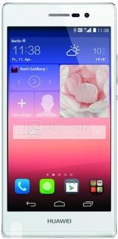 "Смартфон Huawei Ascend P7 White (Android 4.4/Kirin 910T 1800MHz/5.0"" (1920x1080)/2048Mb/16Gb/4G LTE 3G (EDGE, HSDPA, HSPA+)) [P7-L10 White] от Нотик"