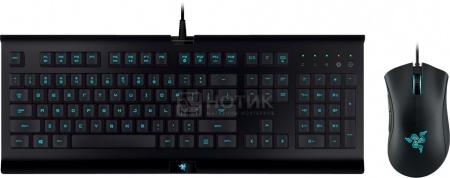 Клавиатура + мышь проводная Razer Cynosa Pro Bundle (комплект), Черный RZ84-01470200-B3R1