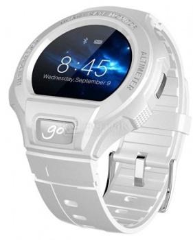 Смарт-часы Alcatel OneTouch Go Watch SM03, Белый/Серый