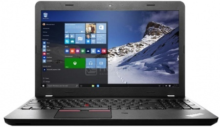 Ноутбук Lenovo ThinkPad Edge E560 (15.6 LED/ Core i5 6200U 2300MHz/ 4096Mb/ HDD+SSD 500Gb/ Intel HD Graphics 520 64Mb) MS Windows 7 Professional (64-bit) [20EV0010RT]