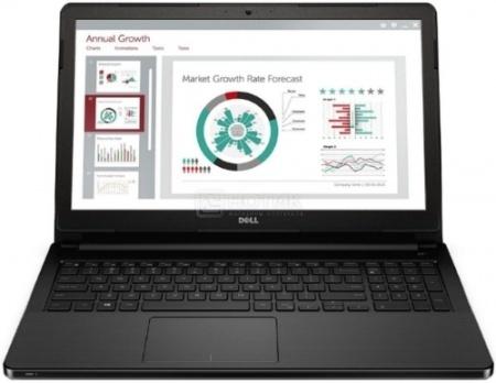 Ноутбук Dell Vostro 3558 (15.6 LED/ Core i3 4005U 1700MHz/ 4096Mb/ HDD 500Gb/ Intel HD Graphics 4400 64Mb) MS Windows 7 Professional (64-bit) [3558-8211]
