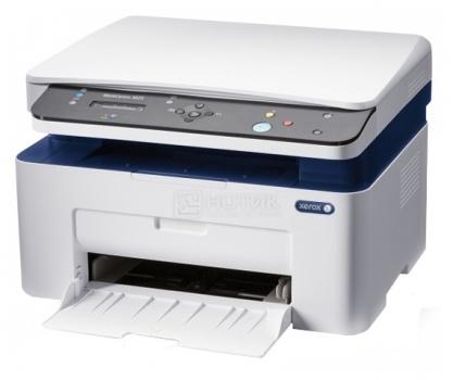 МФУ светодиодное монохромное Xerox WorkCentre 3025BI, A4, 20 стр/мин, 128Мб, WiFi, USB, Белый 3025V_BI от Нотик