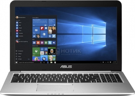 Ноутбук Asus K501LB (15.6 LED/ Core i3 5010U 2100MHz/ 6144Mb/ HDD 750Gb/ NVIDIA GeForce 940M 2048Mb) MS Windows 10 Home (64-bit) [90NB08P1-M02070]Asus<br>15.6 Intel Core i3 5010U 2100 МГц 6144 Мб DDR3-1600МГц HDD 750 Гб MS Windows 10 Home (64-bit), Синий<br>