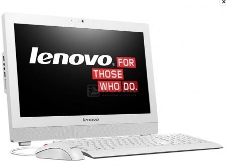 Моноблок Lenovo IdeaCentre S200z (19.5 LED/ Celeron Dual Core N3050 1600MHz/ 4096Mb/ HDD 500Gb/ Intel HD Graphics 64Mb) Free DOS [10K10006RU]