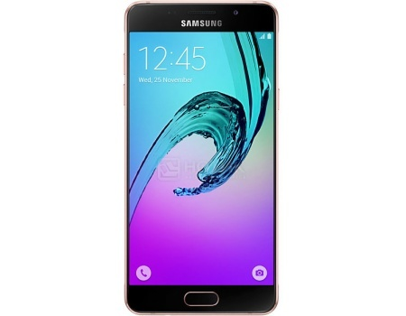 Смартфон Samsung Galaxy A5 SM-A510F Pink/Gold (Android 5.1/7580 1600MHz/5.2