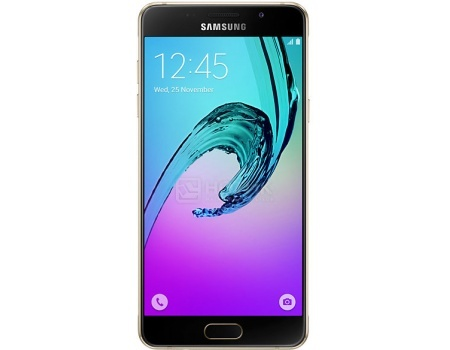 Смартфон Samsung Galaxy A5 SM-A510F Gold (Android 5.1/7580 1600MHz/5.2