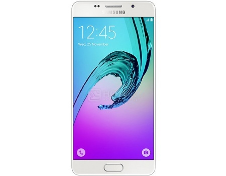 "Смартфон Samsung Galaxy A5 SM-A510F White (Android 5.1/7580 1600MHz/5.2"" 1920x1080/2048Mb/16Gb/4G LTE  ) [SM-A510FZWDSER] от Нотик"