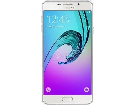 Смартфон Samsung Galaxy A7 SM-A710F White (Android 5.1/7580 1600MHz/5.5