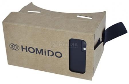 Фотография товара очки виртуальной реальности Homido Cardboard v1.0, Коричневый HMD-CB-01 (43296)