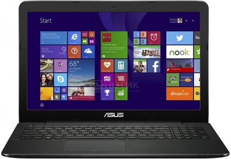 Ноутбук Asus X554LJ (15.6 LED/ Core i5 5200U 2200MHz/ 4096Mb/ HDD 500Gb/ NVIDIA GeForce 920M 1024Mb) MS Windows 10 Home (64-bit) [90NB08I8-M18930]