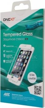 Защитное стекло ONEXT для Apple iPhone 6/6S 3D, Белый 41002