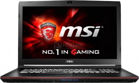 Ноутбук MSI GP72 6QF-272RU Leopard Pro (17.3 LED/ Core i7 6700HQ 2600MHz/ 16384Mb/ HDD+SSD 1000Gb/ NVIDIA GeForce GTX 960M 2048Mb) MS Windows 10 Home (64-bit) [9S7-179553-272]