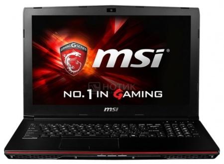 Ноутбук MSI GP72 6QF-273RU Leopard Pro (17.3 LED/ Core i7 6700HQ 2600MHz/ 8192Mb/ HDD 1000Gb/ NVIDIA GeForce GTX 960M 2048Mb) MS Windows 10 Home (64-bit) [9S7-179553-273]
