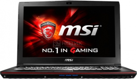 Ноутбук MSI GP62 6QF-467RU Leopard Pro (15.6 LED/ Core i5 6300HQ 2300MHz/ 8192Mb/ HDD 1000Gb/ NVIDIA GeForce® GTX 960M 2048Mb) MS Windows 10 Home (64-bit) [9S7-16J522-467]